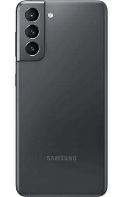 Rear View Samsung Galaxy S21 5G Phantom Gray