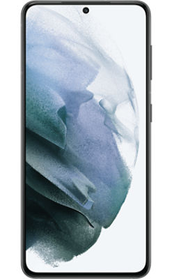 Front View Samsung Galaxy S21 5G Phantom Gray