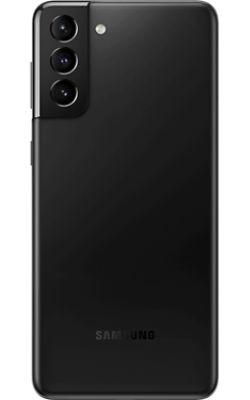 Rear View Samsung Galaxy S21-Plus 5G Phantom Black